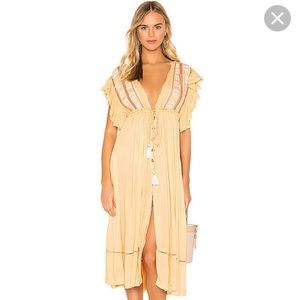 'Free People 'Will wait for you' MIDI Dress